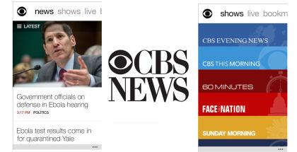 CBS News, News apps, read digital newspapers