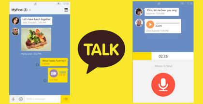 Kakaotalk for WP, Windows PHone apps, social applications