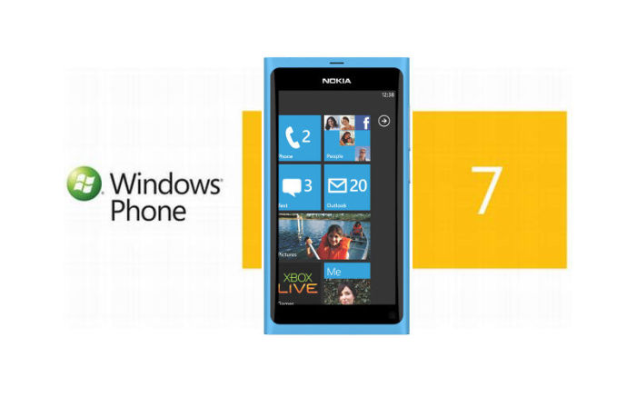 Nokia Lumia, Windows Phone 7, WP7 smartphone