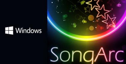 SongArc game, music and rhythm gaming, SongArc for PC and tablet