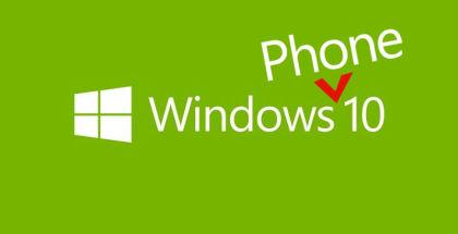 Windows 10, Windows Phone 10, Windows update