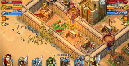 Age of Empires, Castle Siege, Sim games