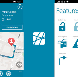 DriveNow Lauches its Car Sharing Service on Windows Phone