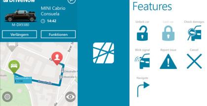 DriveNow, Car Sharing, Travel apps