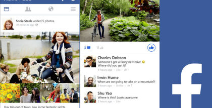 Facebook app, Microsoft Facebook, FB for WP
