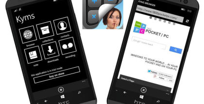 Kyms Calc, hide photos and videos on windows phone