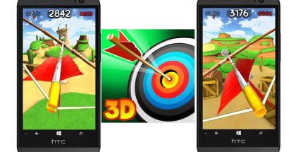 Master Archer 3D, free games on Windows Phone, Winsmartphones
