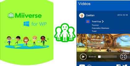 Miiverse for Windows Phone, Nintendo 3DS, Wii U Social