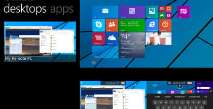 Remote Desktop, Microsoft apps, Windows 10 and 8.1