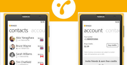 Ringo App, Free international calls, low cost worldwide calling