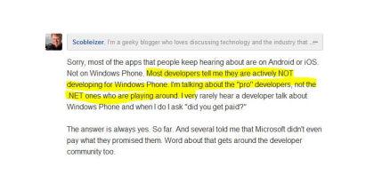 Windows Phone, Techie, Robert Scoble