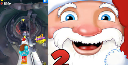 Running With Santa 2, Endless Runners, Action and Adventure Games