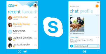 Skype app, Skype for Windows Phone, Skype VoIP and IM