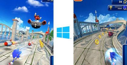 Sonic Dash, Sonic Games, SEGA games