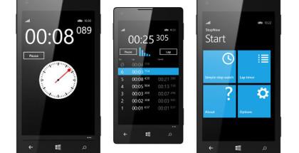 StopNow, Stopwatch app, timers