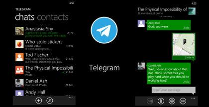 Telegram Messenger, messaging app, social apps