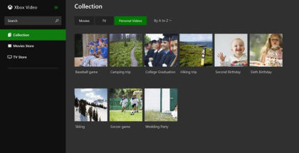 Xbox Video, Xbox movies, stream tv shows and movies