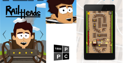Rail Heads, touch orchestra, windows phone