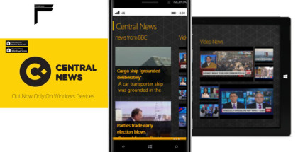 Central News, Windows apps, News and Weather