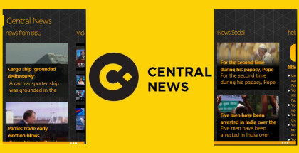 Central News, RSS Reader, News and Weather apps