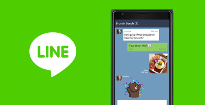LINE for Windows 10 smartphones, LINE app, Video calls