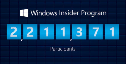 Windows insider signup, statistics, information