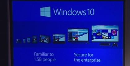 Windows 10 Familiar to 1.5 Billion