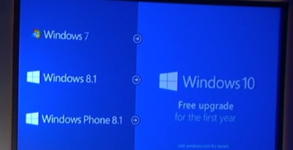 Windows 10, free upgrade, press releasse