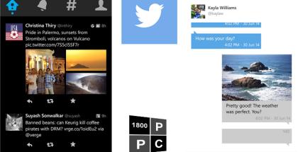 twitter, windows phone, updated