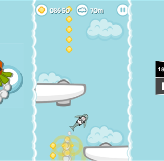 Bunny goes Boom a new vertical endless runner game from SnoutUp