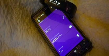 Band Sensor Monitor, microsoft band, windows phone app