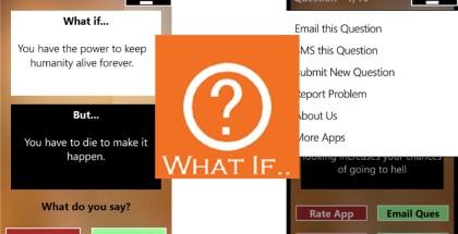 What iff, windows phone, gaming