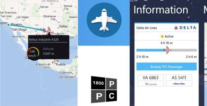 FlightHero, windows phone app, travel tools