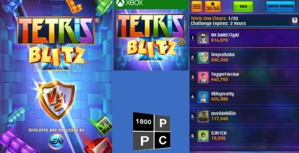 Tetris Blitz, Electronic Arts, Windows Phone Game