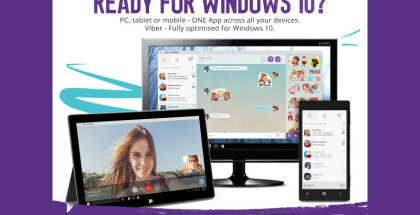 Viber for Win10, Windows 10 apps, VoiP and messaging