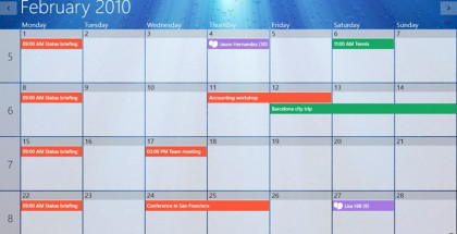 One Calendar, Windows apps, Windows Phone software
