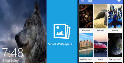 Smart Wallpapers, Backgrounds for Windows, Win10 apps and software
