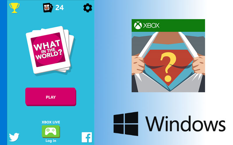 What in the World, Games on Windows, freeware downloadables on phones