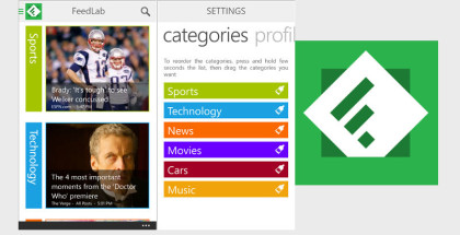 Feedly for Windows Phone, WP10, RSS Readers