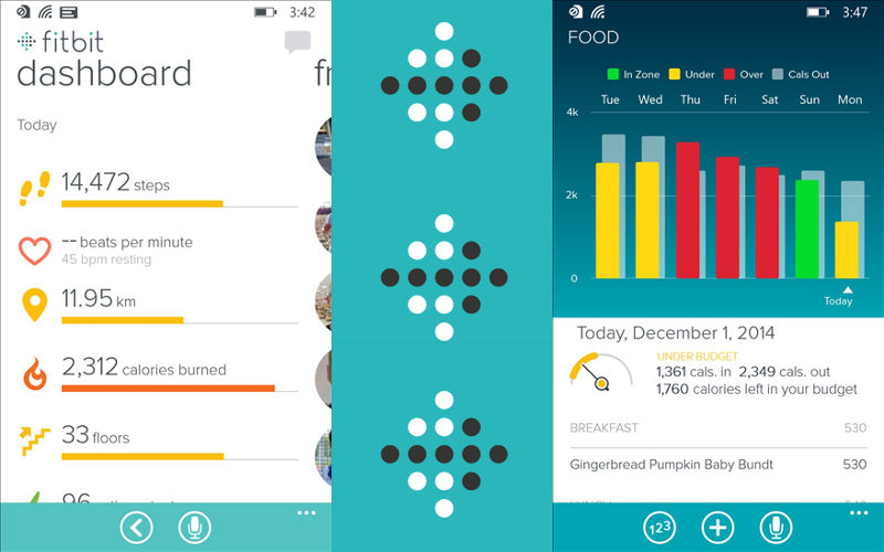 FitBit for Windows 10 Mobile, Windows Phone fitness, GPS apps