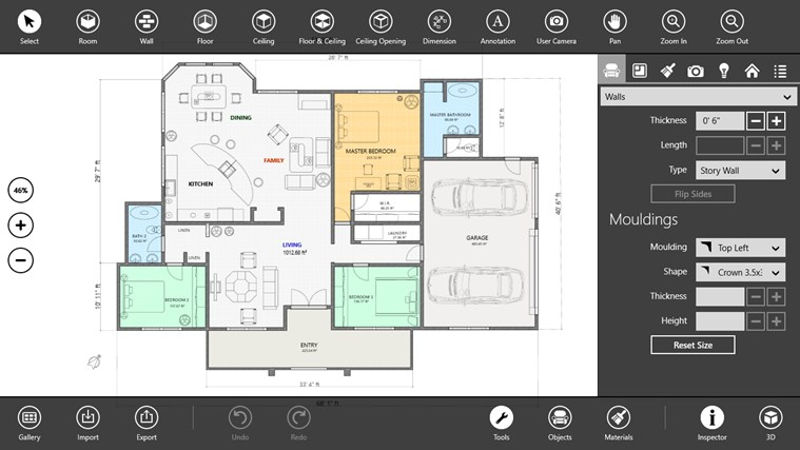 App to design a house home design and style House interior design ideas app