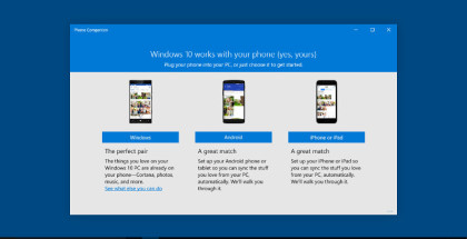 Microsoft Phone Companion, Sync apps, Music and Photo syncronization