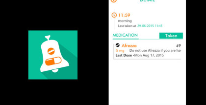 RxRemind, medical treatment and medications timers, alarm for taking medicines