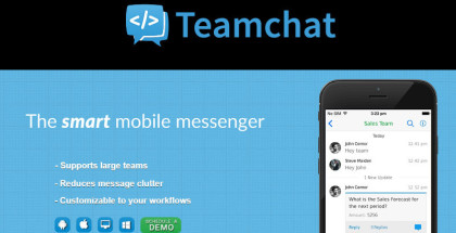 Teamchat, corporate messaging, business chat apps