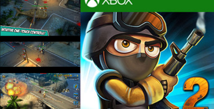 Tiny Troopers sequel, Tiny Troopers 2: Special ops, Windows 10 Mobile games