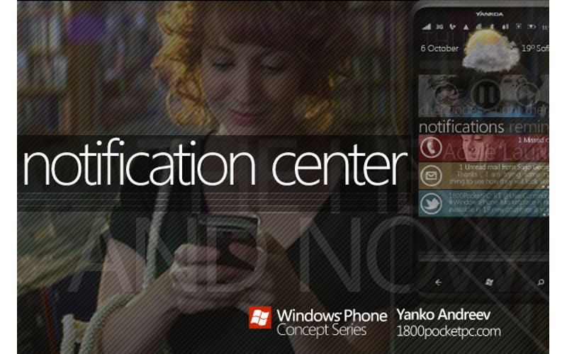Windows phone notifications, Action Center, Windows OS updates