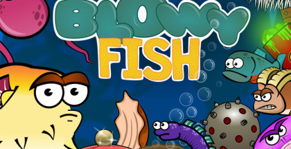 Blowy Fish, One Man Band games, Android and Windows games