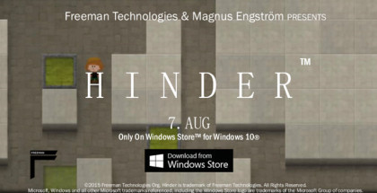 Hinder, Windows games, PCs and tablets