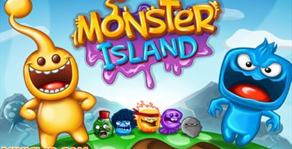 Monster Island, Miniclip games, Puzzle gaming