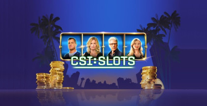 CSI Slots game, Crime Scene Investigators series, CSI TV series